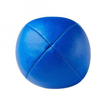 Balle de jonglerie Henry's en cuir - Ø 58 mm / Bleu