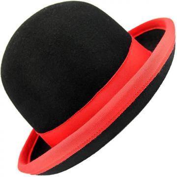 Chapeau de Jonglerie Juggle Dream Tumbler / Noir liseré Rouge - 57 cm