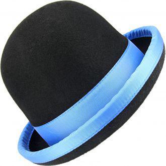 Chapeau de Jonglerie Juggle Dream Tumbler / Noir liseré Bleu - 58 cm