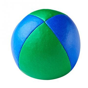 Balle de jonglerie Henry's sac compact cuir 67 mm / Bleu-Vert
