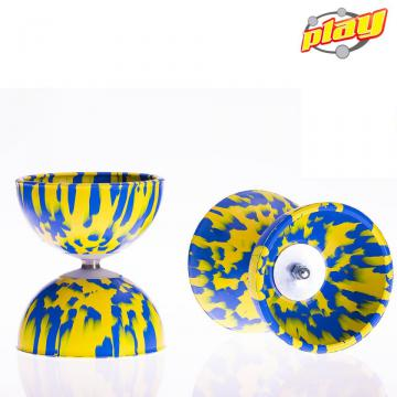 Diabolo Play Multicolor Bleu-Jaune