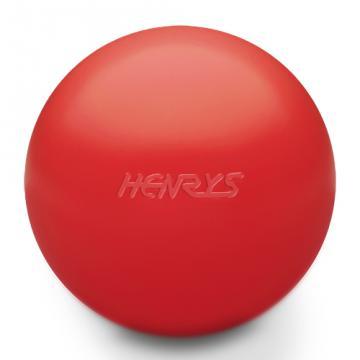 Balle Sans PVC Henry's HIX-ball Rouge