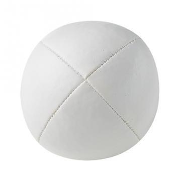 Balle de jonglerie Henry's en cuir - Ø 58 mm / Blanc