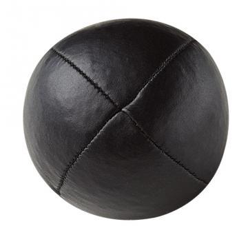 Balle de jonglerie Henry's en cuir - Ø 58 mm / Noir