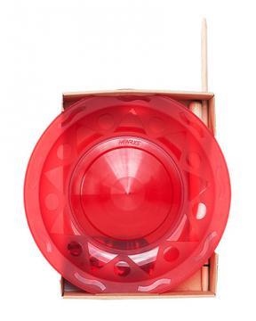 Assiette Chinoise Henry's + Baguette bois Pliable / Rouge