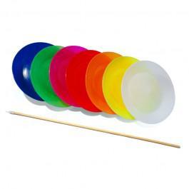 Assiette Chinoise Play - Ø 23 cm + baguette bois