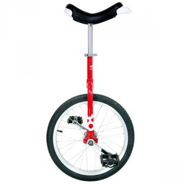 """Monocycle Only One Ø 45 cm - 18"""" - Rouge"""