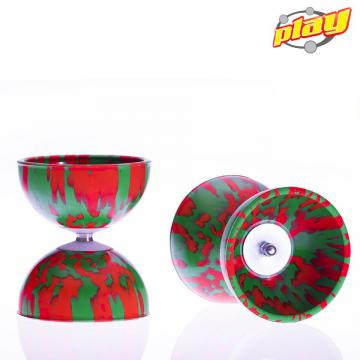 Diabolo Play Multicolor Rouge-Vert
