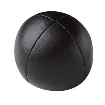 Balle de jonglerie Henry's sac compact cuir 67 mm / Noir