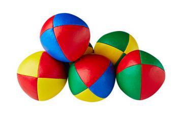 Balle de jonglerie Henry's en cuir - Ø 58 mm