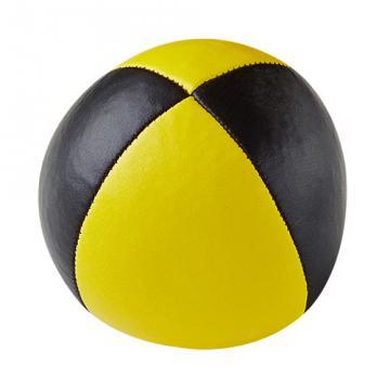 Balle Henry's sac compact cuir / Jaune-Noir