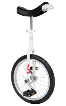 """Monocycle Only One Ø 45 cm - 18"""" - Blanc"""