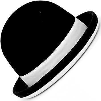 Chapeau de Jonglerie Juggle Dream Tumbler / Noir liseré Blanc - 57 cm