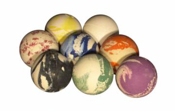 Balle de Rebond Odd Ball en caoutchoux Ø 63 mm - 140 gr - couleurs au choix