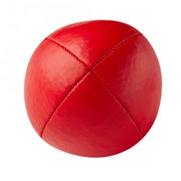Balle de jonglerie Henry's en cuir - Ø 58 mm / Rouge