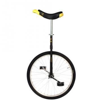 """Monocycle Qu'Ax Luxus Ø60cm - 24"""" - Noir"""