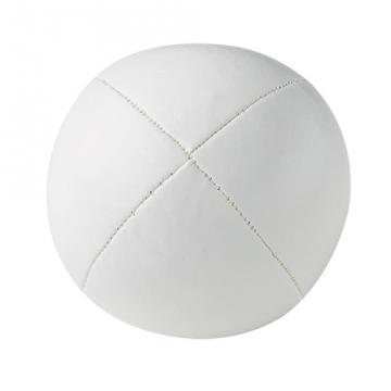 Balle de jonglerie Henry's sac compact cuir 67 mm / Blanc