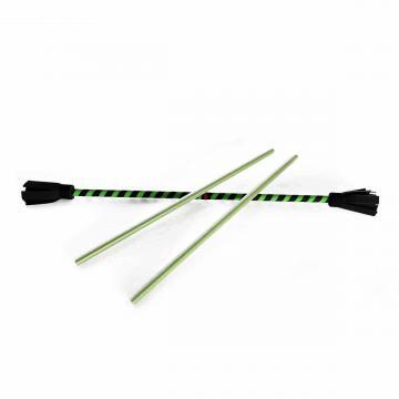 Golo Fleurs Simple Spirale - 73 cm / Noir-Vert